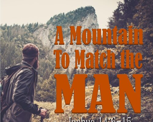 A mountain to match the man